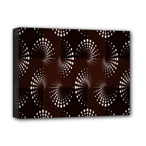 Free Dot Spiral Seamless Deluxe Canvas 16  X 12