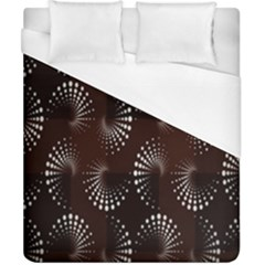 Free Dot Spiral Seamless Duvet Cover (california King Size) by AnjaniArt