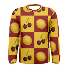 Fruit Pattern Men s Long Sleeve Tee