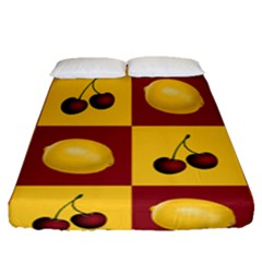Fruit Pattern Fitted Sheet (queen Size)