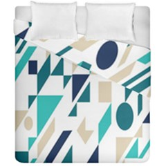 Geometric Duvet Cover Double Side (california King Size) by AnjaniArt
