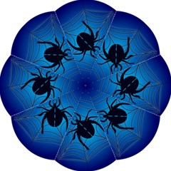 Spider On Web Straight Umbrellas by Amaryn4rt