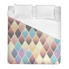 Abstract Colorful Background Tile Duvet Cover (full/ Double Size) by Amaryn4rt