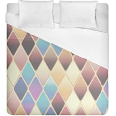 Abstract Colorful Background Tile Duvet Cover (king Size) by Amaryn4rt