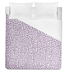 Maze Lost Confusing Puzzle Duvet Cover (queen Size) by Amaryn4rt