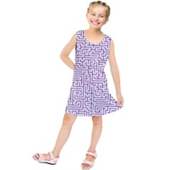 Maze Lost Confusing Puzzle Kids  Tunic Dress