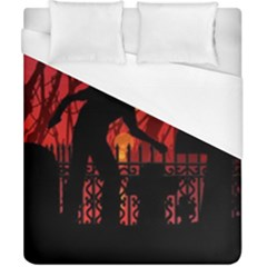 Horror Zombie Ghosts Creepy Duvet Cover (california King Size) by Amaryn4rt