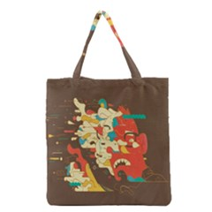 Shadow Advance Grocery Tote Bag