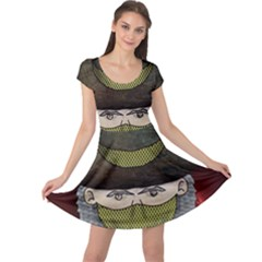 Illustration Drawing Vector Color Cap Sleeve Dresses