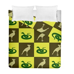 Snake Bird Duvet Cover Double Side (full/ Double Size)