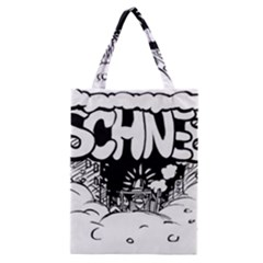 Snow Removal Winter Word Classic Tote Bag