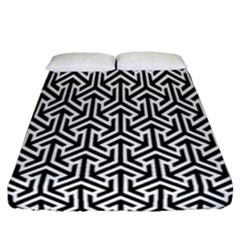 Tramas On Pinterest Geometric Patterns Fitted Sheet (california King Size) by AnjaniArt