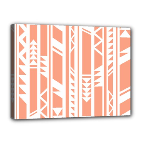 Tribal Pattern Canvas 16  X 12  by AnjaniArt