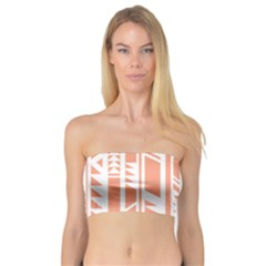 Tribal Pattern Bandeau Top
