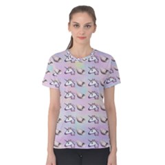 Tumblr Unicorns Women s Cotton Tee