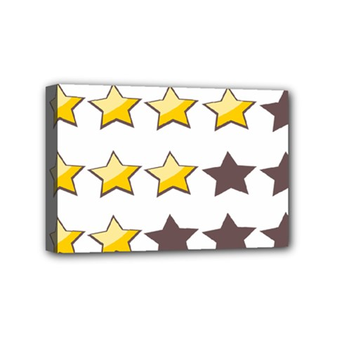 Star Rating Copy Mini Canvas 6  X 4  by Jojostore