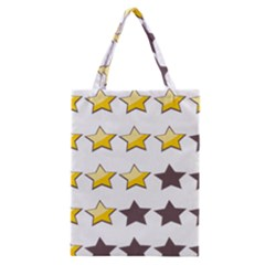 Star Rating Copy Classic Tote Bag by Jojostore