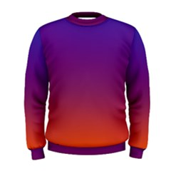 Purple Orange Blue Men s Sweatshirt
