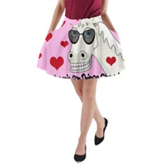 Don t Wait For Prince Charming A-line Pocket Skirt