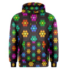 Pattern Background Colorful Design Men s Pullover Hoodie by Amaryn4rt