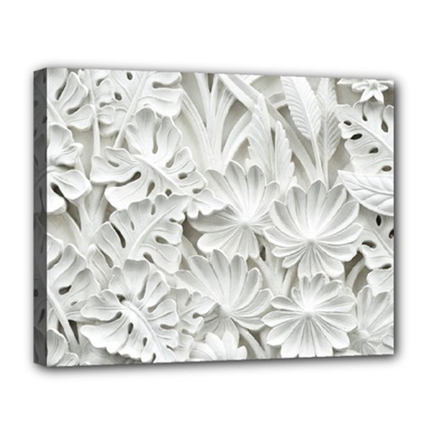 Pattern Motif Decor Canvas 14  X 11