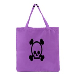 Cartoonskull Danger Grocery Tote Bag by Jojostore