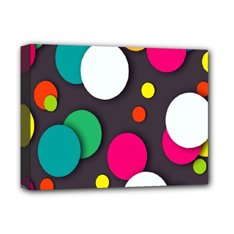 Color Balls Deluxe Canvas 16  X 12   by Jojostore