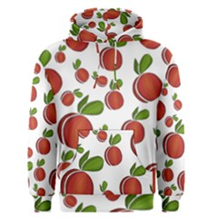 Peaches Pattern Men s Pullover Hoodie