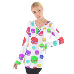 Macaroons Women s Tie Up Tee