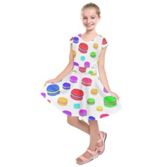 Macaroons Kids  Short Sleeve Dress by Valentinaart