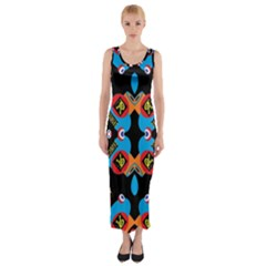 Amour De Amour Fitted Maxi Dress by MRTACPANS
