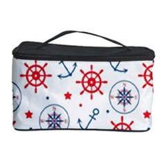 Compass Anchor Cosmetic Storage Case by Jojostore