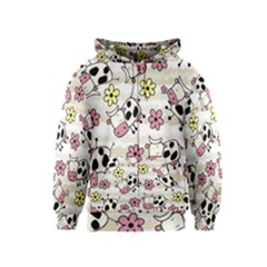 Cow Animals Kids  Zipper Hoodie