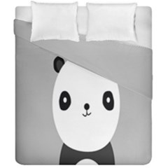 Cute Panda Animals Duvet Cover Double Side (california King Size)