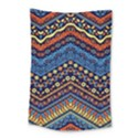 Cute Hand Drawn Ethnic Pattern Small Tapestry View1
