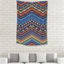 Cute Hand Drawn Ethnic Pattern Small Tapestry View2