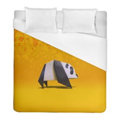Cute Panda Duvet Cover (full/ Double Size) by Jojostore