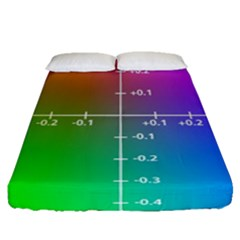 Formula Plane Rainbow Fitted Sheet (queen Size)