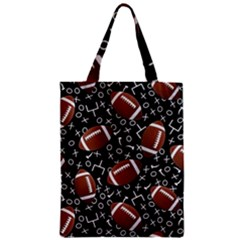 Football Player Zipper Classic Tote Bag