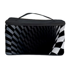 Optical Illusions Cosmetic Storage Case by Jojostore