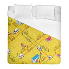 Highway Town Duvet Cover (full/ Double Size)