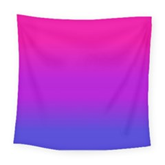 Pink Purple Blue Square Tapestry (large) by Jojostore