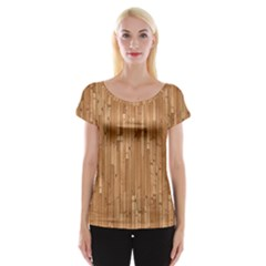 Parquet Floor Women s Cap Sleeve Top by Jojostore