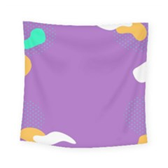 Purple Square Tapestry (small) by Jojostore