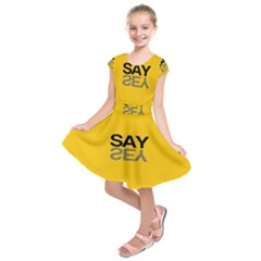 Say Yes Kids  Short Sleeve Dress