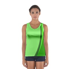 Simple Green Women s Sport Tank Top