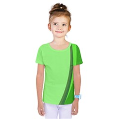 Simple Green Kids  One Piece Tee