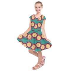 Timing Smart Time Kids  Short Sleeve Dress