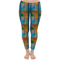 Wall Of Colour Duplication Classic Winter Leggings
