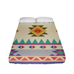 Your First Aztec Pattern Fitted Sheet (full/ Double Size)